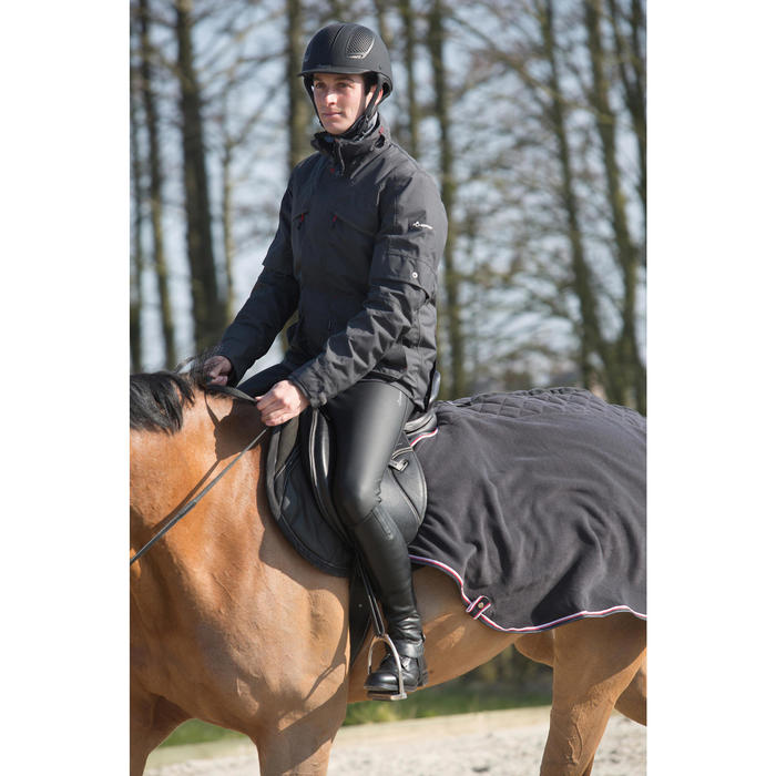 Pantalon chaud et imperméable équitation homme KIPWARM - 1046032