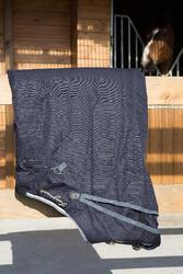 Buitendeken Allweather 300 1.000 D kastanjebruin - pony en paard - 1046055