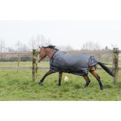 2 guêtres intégrales équitation cheval NEOPRENE noir