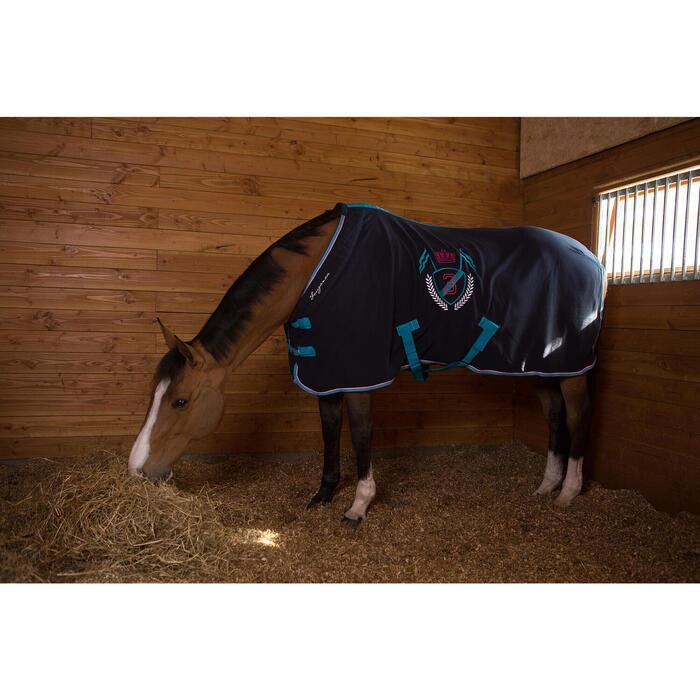 Chemise d'écurie équitation POLAR 500 marron -  poney et cheval - 1046079