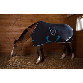 Chemise d'écurie équitation POLAR 500 marron -  poney et cheval - 1046085