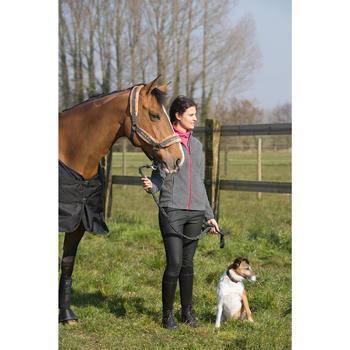 Pantalon imperméable chaud et respirant équitation femme KIPWARM - 1046120