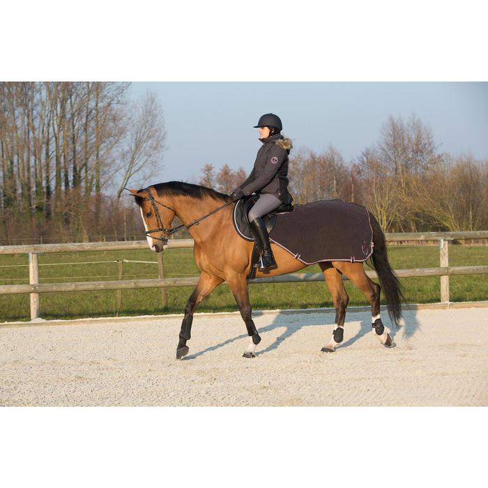 Pantalon imperméable chaud et respirant équitation femme KIPWARM - 1046127