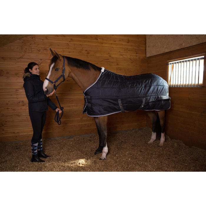 Veste chaude et imperméable équitation femme TOSCA 1 - 1046141