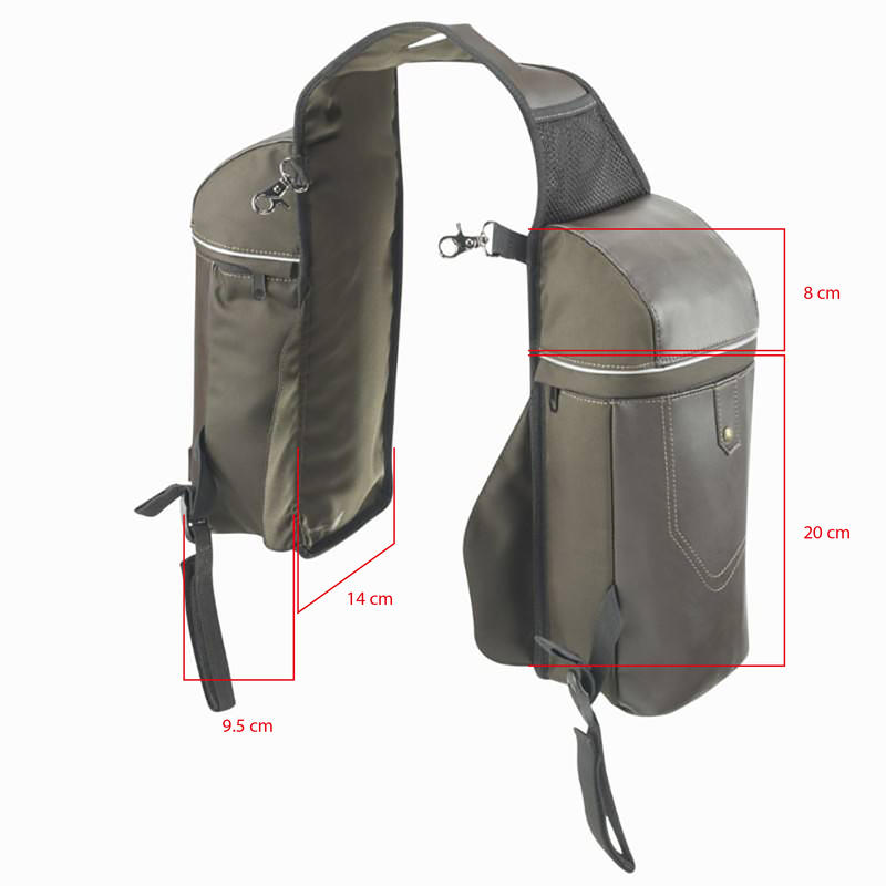 Sentier small horseback riding saddle bags