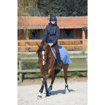 Veste chaude et imperméable équitation femme TOSCA 1 - 1046258