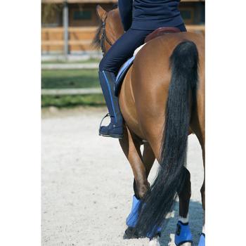 Mini-chaps équitation adulte PADDOCK 700 cuir - 1046264