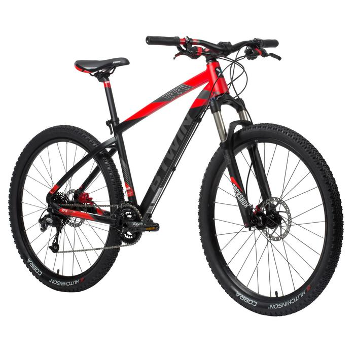 """Mountainbike Rockrider 27,5"""" 560 schwarz"""