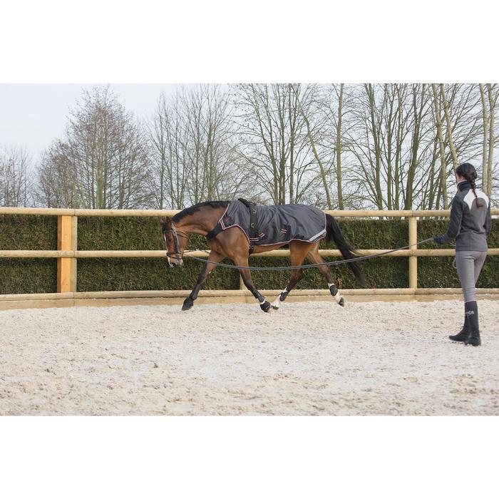 Führmaschinendecke Exercise Pferd schwarz