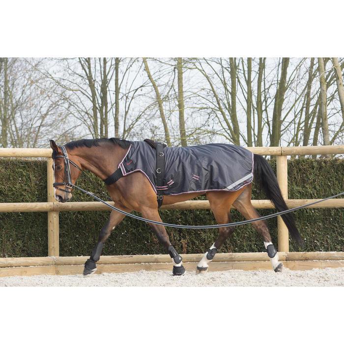 2 open springschoenen ruitersport pony en paard OPTIMUM zwart