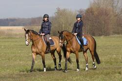 Onderlegger schuim ruitersport - paar en pony LENA POLAIRE - 1046614