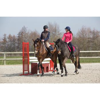 Col roulé équitation femme PADDOCK HR rose framboise