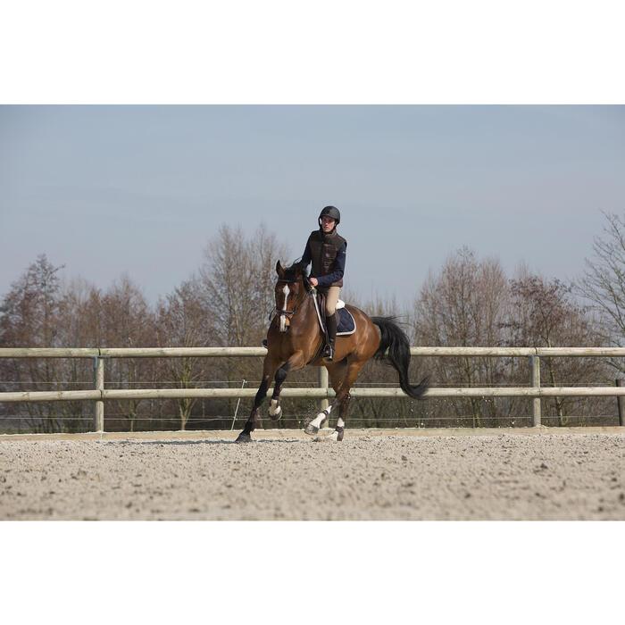 Filet + rênes équitation cheval et poney TINCKLE marron - 1046654