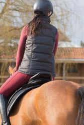 Rolkraagshirt Paddock HR voor dames, ruitersport - 1046706