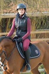 Rolkraagshirt Paddock HR voor dames, ruitersport - 1046711