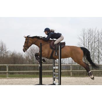 Gamaschen offen Riding für Pony/Pferd 2er-Set braun