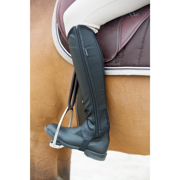 Classic One Adult / Children's Horse Riding Jodhpur Boots - Black - 1046732