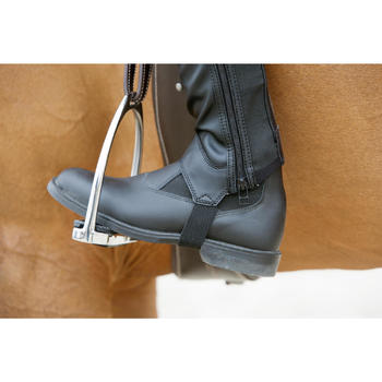 Classic One Adult / Children's Horse Riding Jodhpur Boots - Black - 1046738
