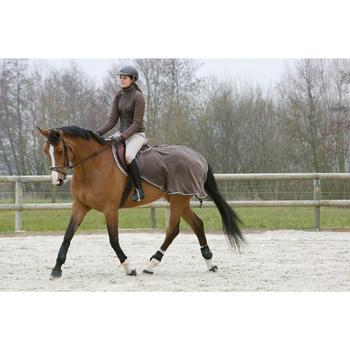 Pantalon équitation femme VICTORIA marron clair - 1046747