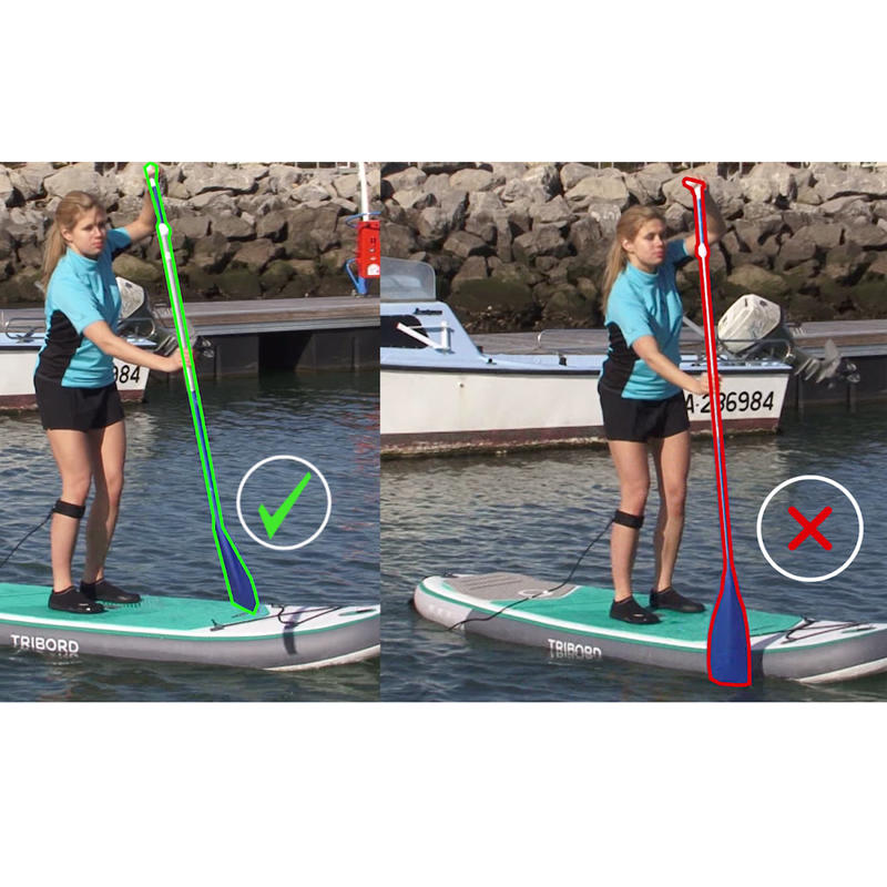 REMO STAND UP PADDLE 100 DESMONTABLE AJUSTABLE 170-210 CM AZUL