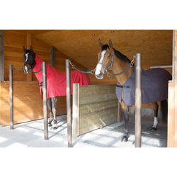 Abschwitzdecke Mikrofaser Pferd/Pony grau