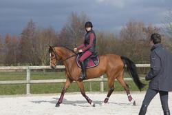 Onderlegger schuim ruitersport - paar en pony LENA POLAIRE - 1046760