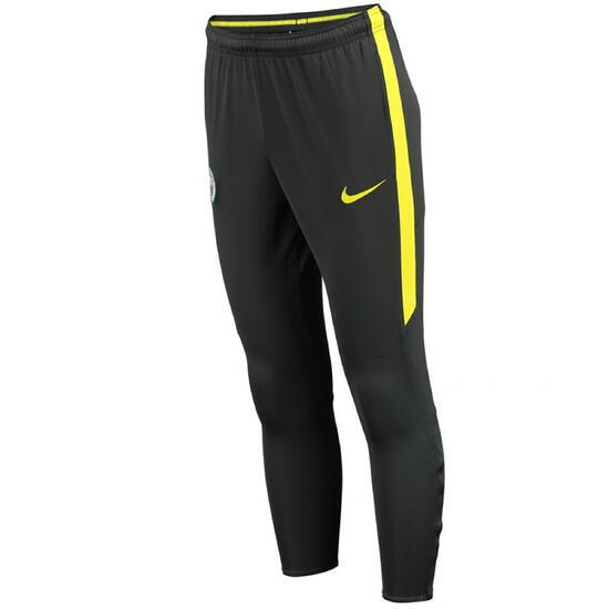 Trainingsbroek voor volwassenen Manchester City blauw/geel - 1047952