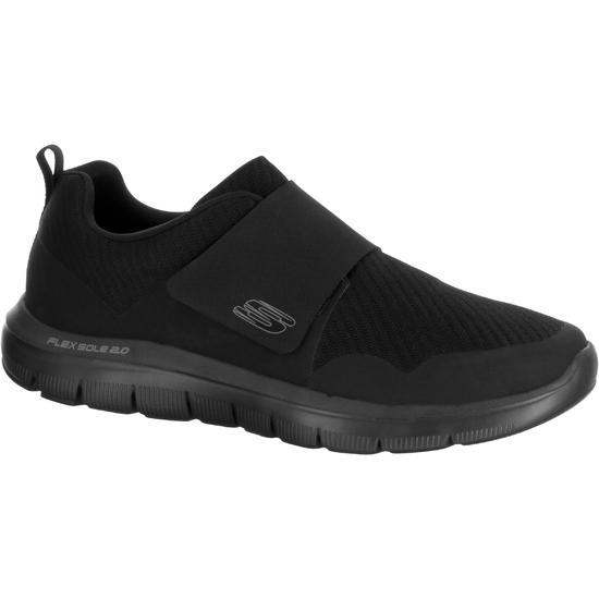 Sportieve wandelsneakers voor heren Flex Advantage Strap zwart - 1048411