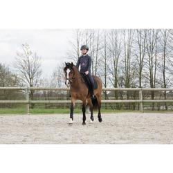 Schabracke Schooling Pony/Pferd schwarz