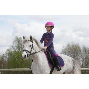Botas de equitación niños SCHOOLING 100 negro