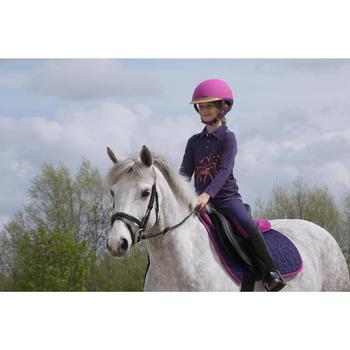 Bottes équitation enfant SCHOOLING 100 noir - 1048797