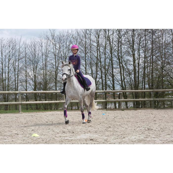 Bottes équitation enfant SCHOOLING 100 noir - 1048805