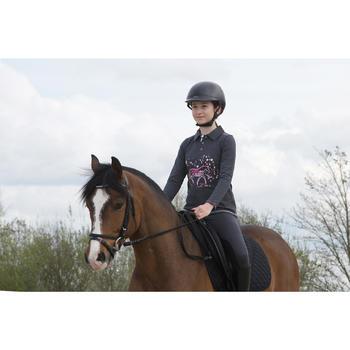 Zadeldek Schooling ruitersport paard en pony zwart