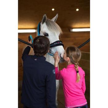 Polo manches longues équitation garçon HORSE - 1048822