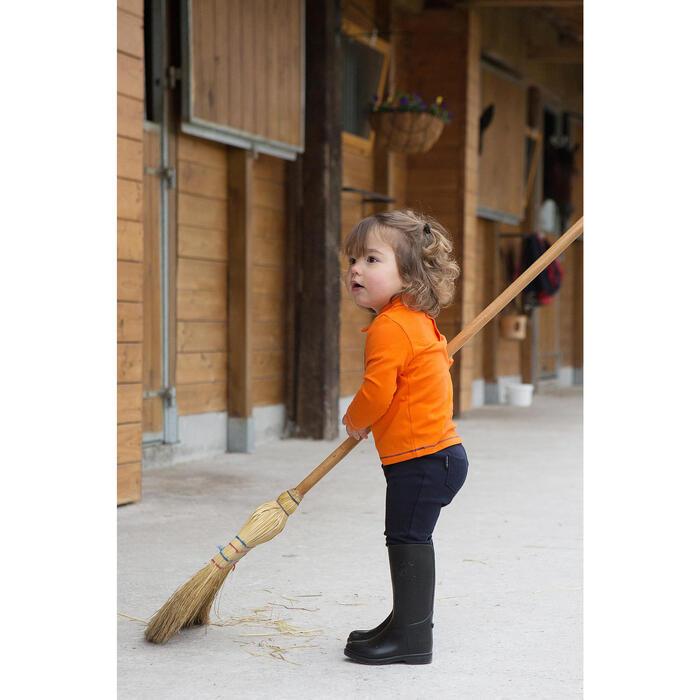 Bottes équitation enfant SCHOOLING BABY noir - 1048837