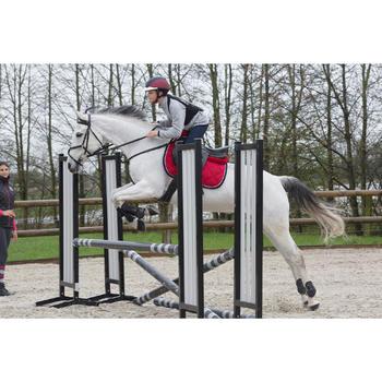 Casque équitation SAFETY CABRIOLE rouge et - 1048863