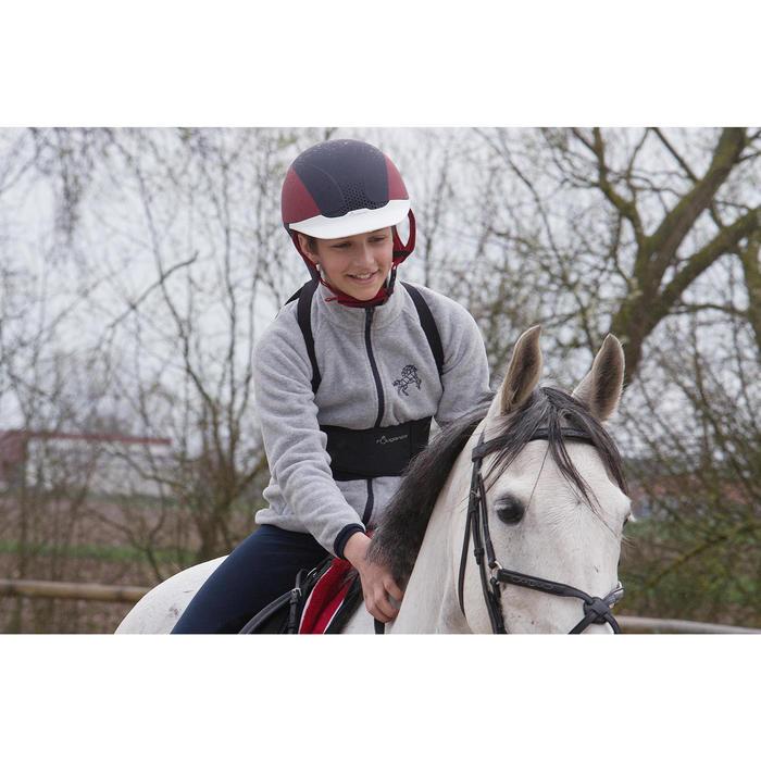 Polaire équitation enfant 12 chiné - 1048869