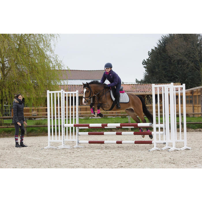 Synthetische singel Anatomic pony en paard zwart
