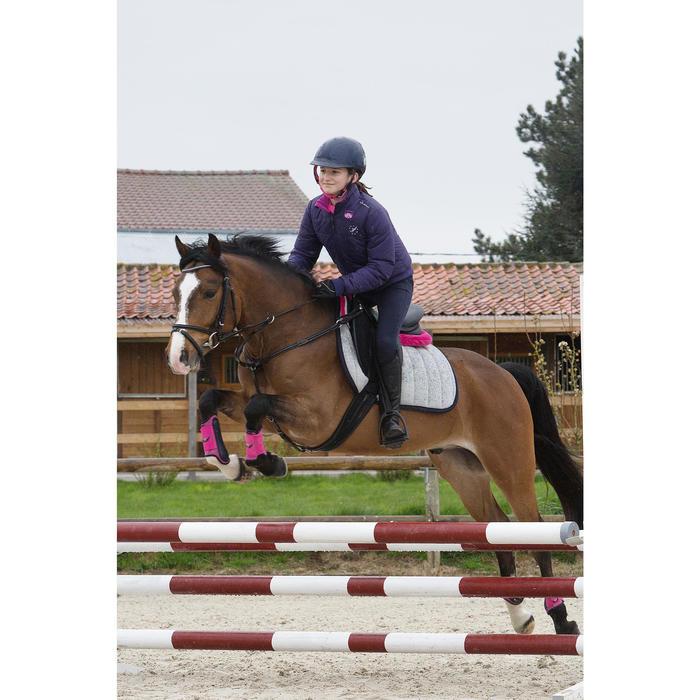 Casque équitation SAFETY CABRIOLE rouge et - 1048883