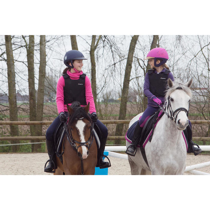 Casque équitation SAFETY CABRIOLE rouge et - 1048888