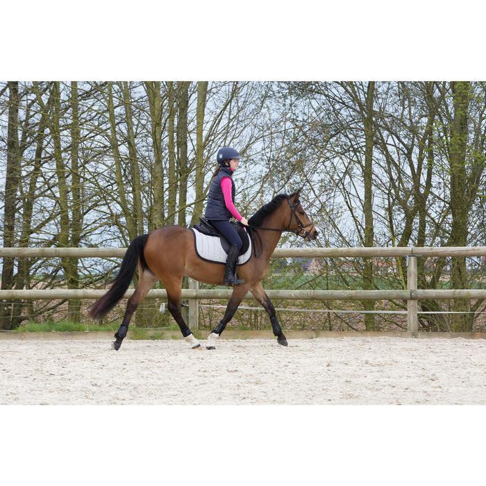 2 guêtres fermées équitation poney et cheval SOFT noir - 1049034