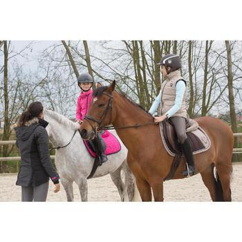 Pantalon chaud imperméable équitation enfant KIPWARM - 1049056