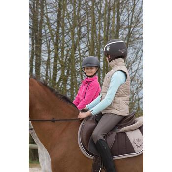 Pantalon chaud imperméable équitation enfant KIPWARM - 1049065