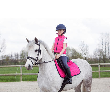 Accessy Glitter Girls Horse Riding Jodhpurs Navy Blue