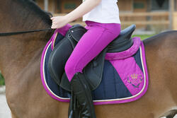 Onderlegger schuim ruitersport - paar en pony LENA POLAIRE - 1049094