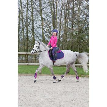 Bottes équitation enfant SCHOOLING 300 bleu - 1049123