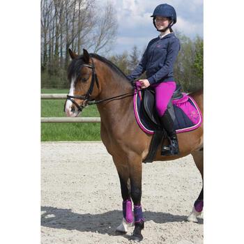 Filet + rênes équitation STRASS noir -  cheval - 1049133