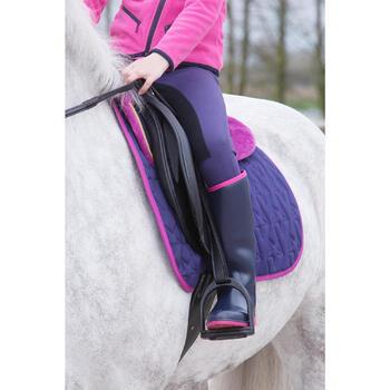 Bottes équitation enfant SCHOOLING 300 bleu - 1049135