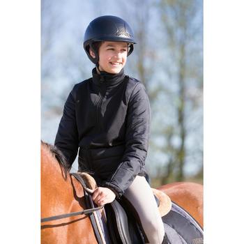 Veste équitation enfant Safy noir - 1049156