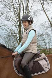 Onderlegger schuim ruitersport - paar en pony LENA POLAIRE - 1049157
